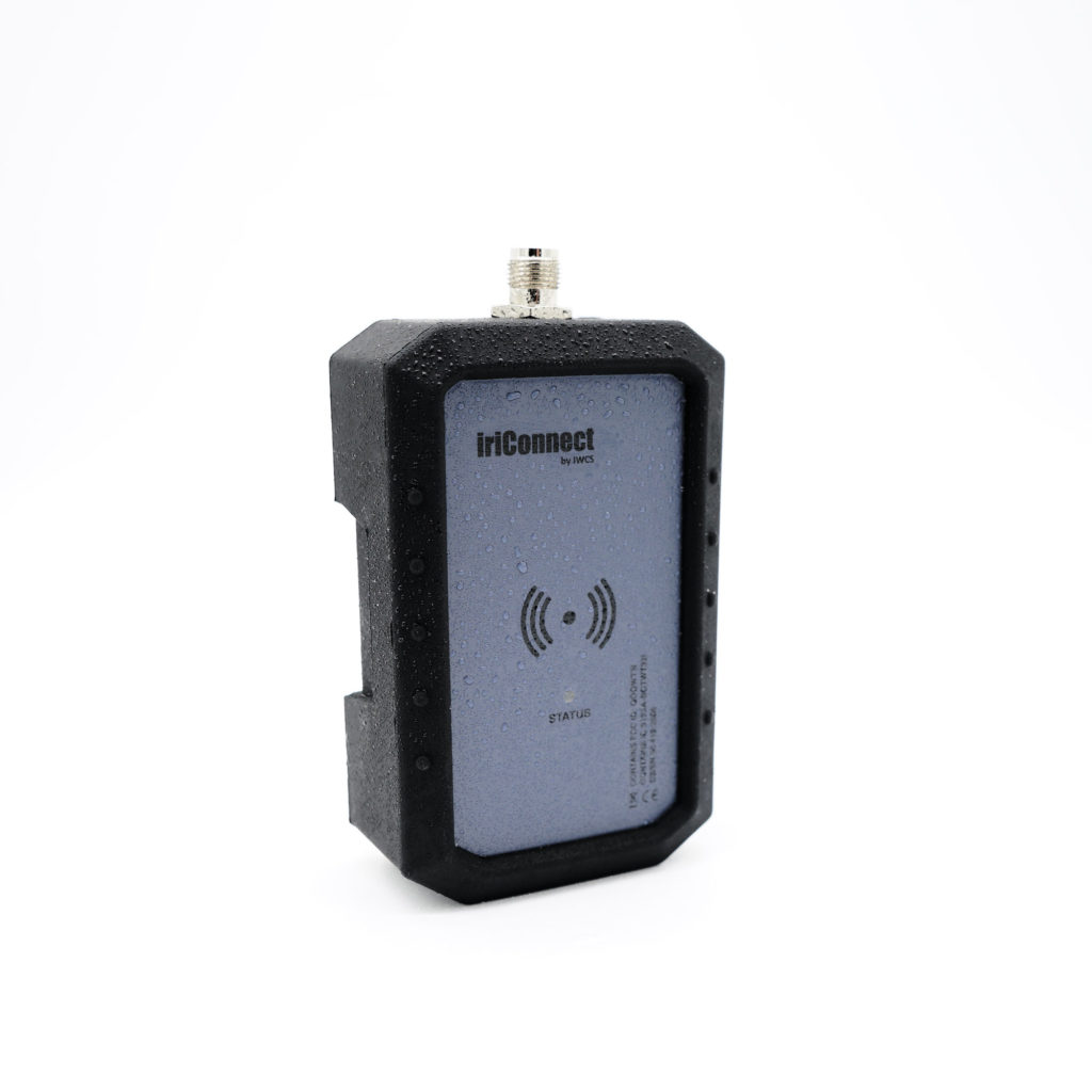 iriConnect External Product seen from side